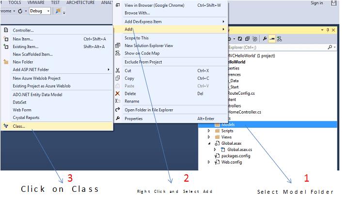 ASP.NET Adding Models