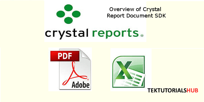 How to Export Crystal Report to PDF, Excel and Word etc