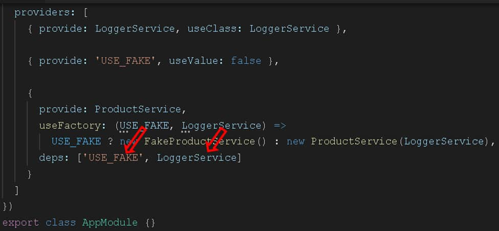 UseFactory Provider Example