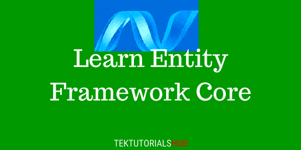 Entity-Framework-Core-Tutorial