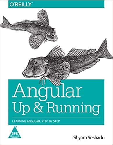 Angular Up & Running is a good book fro OReilly