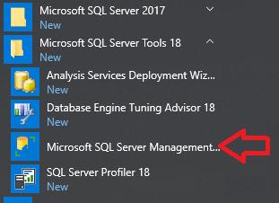 SQL Server Management Studio in Program Files